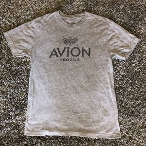 Other - Graphic Advertising Tee Shirt Gray Avión Tequila L